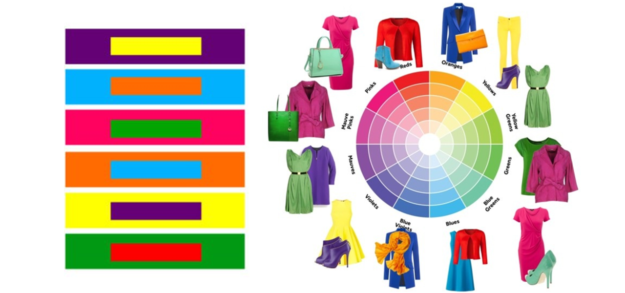 How to Choose Contrast Colours to Create Fabulous Clothing
